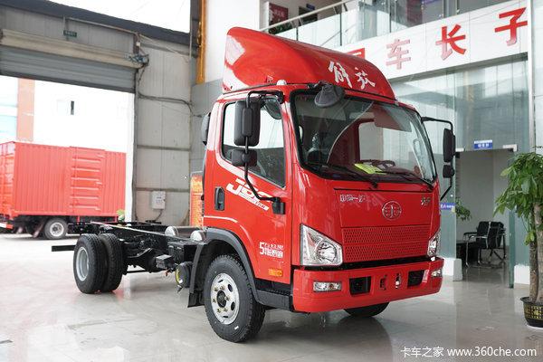 降价促销一汽解放J6F载货车仅售12.10万