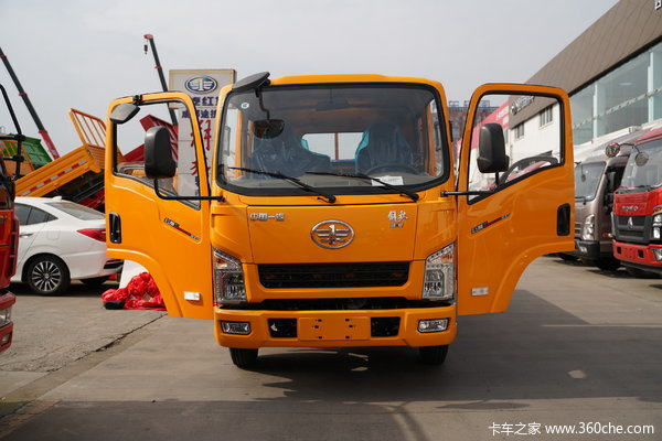 降价促销解放公狮载货车仅售7.55万