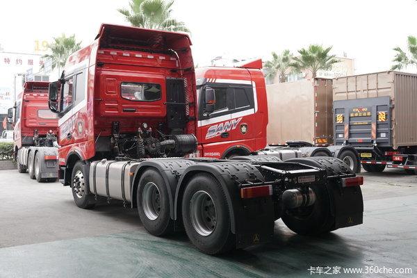 优惠0.2万杭州三一重卡牵引车促销中