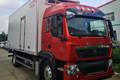 中国重汽 HOWO TX5 4X2 240马力 6.8米冷藏车(ZZ5187XLCK501GE1)图片