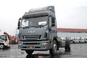 江淮 德沃斯V9 170马力 6.8米排半仓栅式载货车(HFC5181CCYP51K1E1V)
