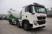 中国重汽 HOWO TX5 340马力 8X4 7.9方混凝土搅拌车(润宇达牌)(YXA5310GJB03)