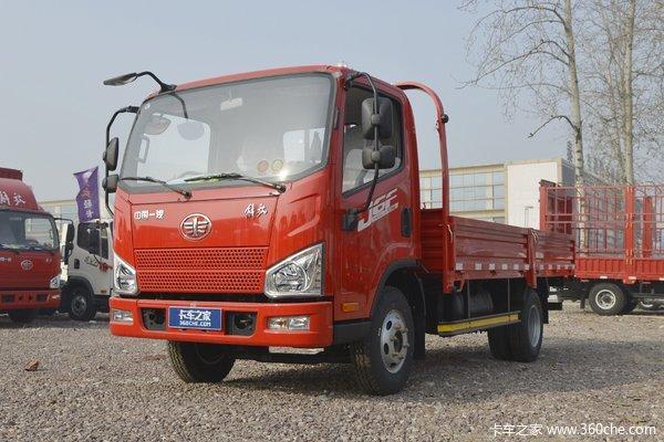优惠0.6万长治解放J6栏板平板货车促销