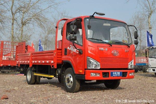 降价促销泸州J6F载货车仅售8.95万