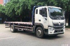 福田 奥铃大黄蜂 220马力 4X2平板运输车(BJ5186TPBJPHK-AD1)