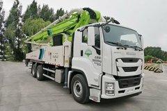 福田 雷萨L10 520马力 6X4 50米混凝土泵车(五十铃底盘)(BJ5350THB-XF) 卡车图片