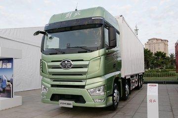 一汽解放 J7重卡 460马力 8X4 9.4米AMT自动挡厢式载货车(CA5310XXYP77K24T4E6)