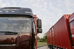 一汽解放 新J6P重卡 2021款 460马力 8X4 9.4米仓栅式载货车(国六)(CA5310CCYP66K24L7T4E6)