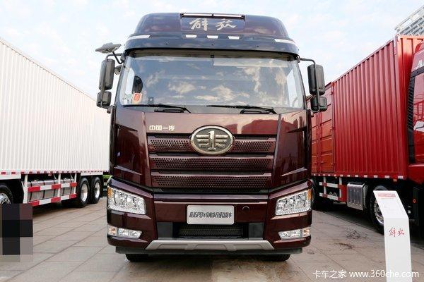 一汽解放 新J6P重卡 2020款 超值版 390马力 8X4 9.4米仓栅式载货车(CA5310CCYP66K24L7T4E5)