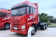 青岛解放 JH6重卡 领航版 470马力 6X4 LNG AMT自动挡牵引车(国六)(CA4250P25K2T1NE6A80)