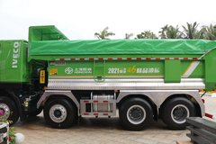 上汽红岩 杰狮C6  400马力 8X4 5.6米自卸车(国六)(CQ5317ZLJED10256) 卡车图片