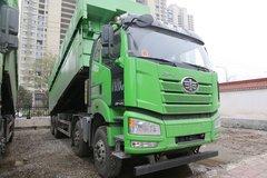 一汽解放 J6P重卡 420马力 8X4 8米自卸车(CA3310P66K24L6T4AE5) 卡车图片