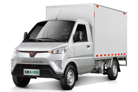 五菱电卡 2.5T 2.885米单排纯电动厢式运输车41.6kWh