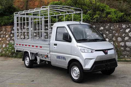 五菱电卡 2.5T 3.015米单排纯电动仓栅式式运输车41.86kWh