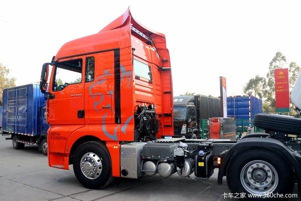 降价促销许昌汕德卡G7牵引车仅售31.9万