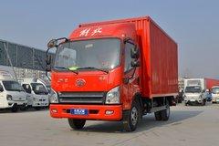解放 虎VN 110马力 4.21米单排厢式轻卡(3.5T后桥)(CA5040XXYP40K50L1E5A84) 卡车图片