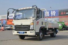 中国重汽HOWO 王系 110马力 3.85米排半栏板轻卡(ZZ1047C3314E145-2) 卡车图片