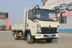 中国重汽HOWO 追梦 经典款 110马力 4.165米单排栏板轻卡(ZZ1047C3314E145-2) 卡车图片