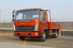 中国重汽HOWO 悍将 130马力 3.85米排半栏板轻卡(ZZ1047C3314E145-1) 卡车图片