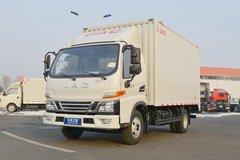 江淮 骏铃V5 129马力 4.15米单排厢式轻卡(HFC5045XXYP92K5C2V) 卡车图片