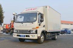 江淮 骏铃V6 130马力 4.18米单排厢式轻卡(HFC5043XXYP91K5C2V) 卡车图片