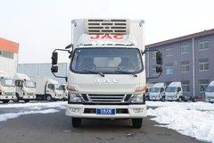 江淮 骏铃V6 152马力 4X2 4.015米冷藏车(6挡)(HFC5043XLCP91K12C2V)