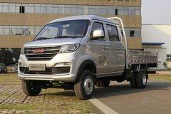 金杯 鑫卡T52 PLUS 标准型 149马力 汽油 2.85米双排栏板微卡(国六)(JKC1034S6X0) 卡车图片