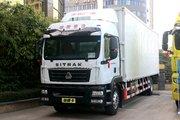 中国重汽 汕德卡SITRAK G5重卡 270马力 4X2 9.92米厢式载货车(ZZ5186XXYN711GF1)