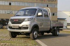 金杯 鑫卡T52 PLUS 标准型 149马力 汽油 3米双排栏板微卡(国六)(JKC1034S6X1) 卡车图片