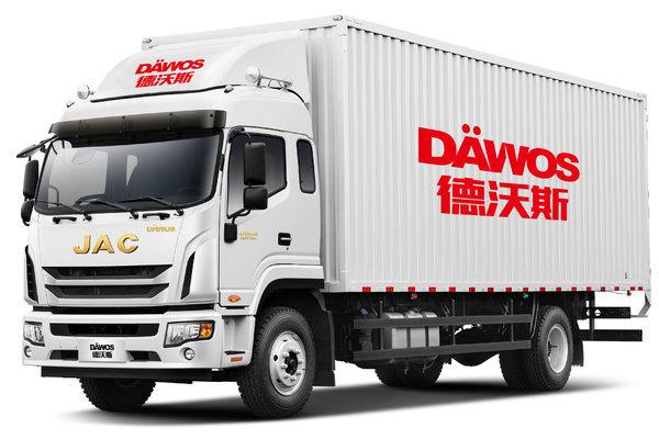 江淮 德沃斯Q9 220马力 4X2 9.8米排半厢式载货车(国六)