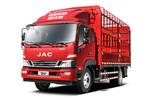 江淮 德沃斯V8 184马力 5.48米排半仓栅式载货车(HFC5140CCYP61K1D7NS)图片