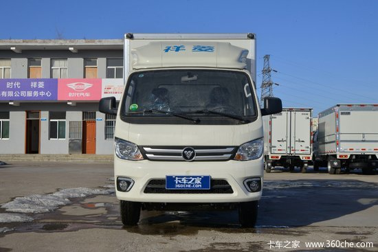 福田 祥菱M2 1.6L 122马力 汽油 3.7米单排厢式微卡(国六)(BJ5032XXY5JV5-01)