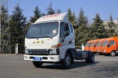 江淮 帅铃E中体 132马力 3.905米排半仓栅式轻卡(HFC5041CCYP52K3C2V) 卡车图片
