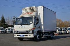 江淮 骏铃V6 冰博士 150马力 4X2 4.03米冷藏车(冷王RV580)(HFC5045XLCP32K4C7S)图片