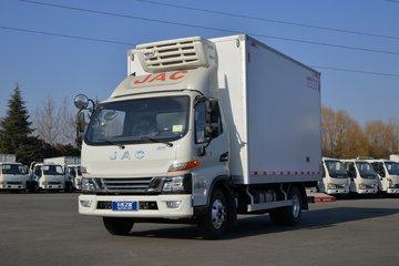 江淮 骏铃V6 冰博士 159马力 4X2 4.015米冷藏车(HFC5048XLCP31K5C7S)