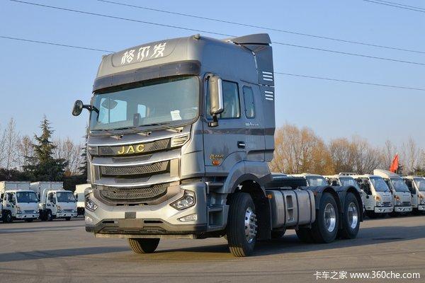 江淮 格尔发A5W重卡 510马力 6X4 AMT自动挡牵引车