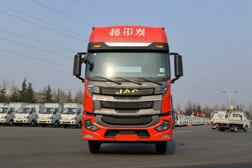 江淮 格尔发A5XⅢ重卡 270马力 6X2 9.7米仓栅式载货车(HFC5251CCYP2K5D52S)