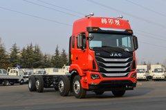 江淮 格尔发K5W重卡 320马力 8X2 9.5米厢式载货车(HFC5311XXYP2K4G43S2V)