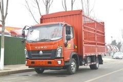 中国重汽HOWO 王系 160马力 4.15米单排仓栅式轻卡(8挡)(ZZ5047CCYC3314E145-1) 卡车图片