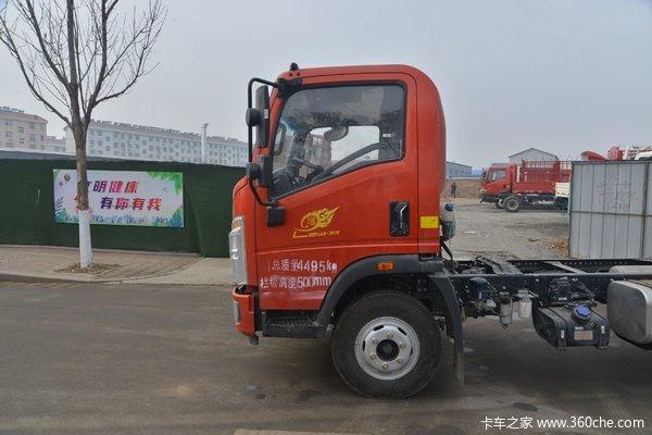 重庆济重优惠0.7万悍将载货车促销中