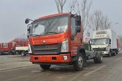 中国重汽HOWO 悍将 156马力 4.15米单排仓栅式轻卡(ZZ2047CCYG3425E142) 卡车图片