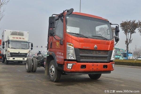 降价促销重汽豪沃悍将载货车仅售7.90万