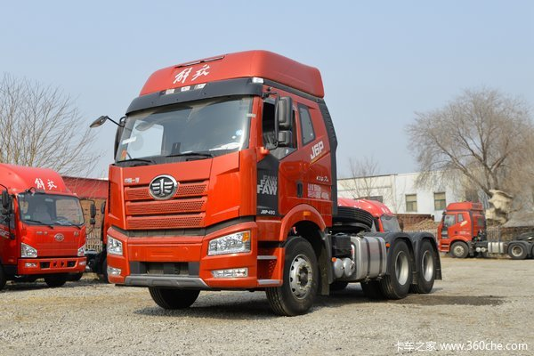 一汽解放 新J6P重卡 质惠版2.0  460马力 6X4牵引车