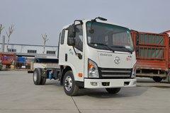 大运 新奥普力 116马力 3.85米排半栏板轻卡(CGC1048HDC33E) 卡车图片