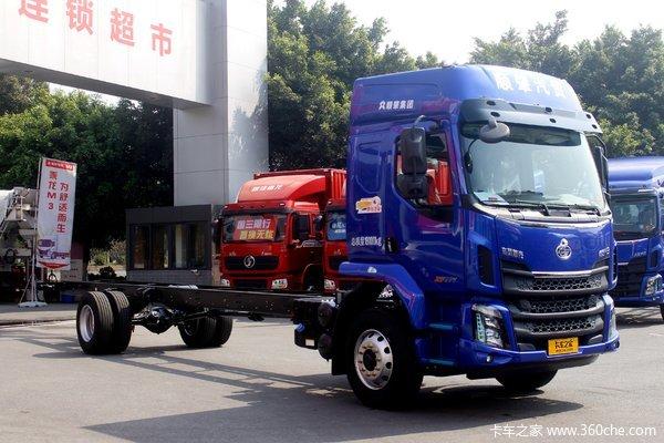 东风柳汽 新乘龙M3中卡 200马力 4X2 6.8米栏板载货车(国六)(LZ1180M3AC1)