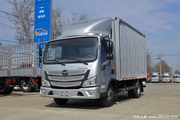 福田 欧马可S1系 143马力 4.14米单排厢式轻卡(采埃孚6挡)