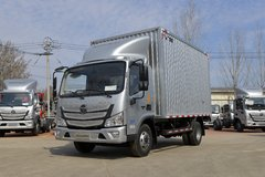 福田 欧马可S1系 150马力 4.14米单排厢式轻卡(国六)(BJ5048XXY8JEA-AB3)