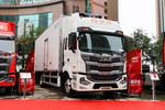 江淮 格尔发A5XⅢ 245马力 4X2 8米冷藏车(HFC5181XLCP2K3A57S)图片