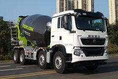 中国重汽 HOWO TX 340马力 8X4 8方混凝土搅拌车(中联牌)(ZLJ5310GJBHTE)