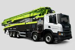 斯堪尼亚 P450 450马力 10X4 67米混凝土泵车(中联牌)(ZLJ5541THBSE)